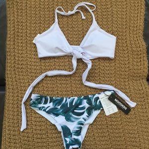 """Mooskini"" two piece, padded push up bikini 👙"